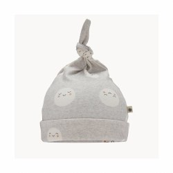 Snowmoon Baby Hat Grey 0-6M