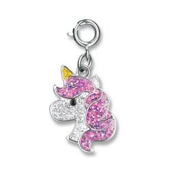 Glitter Unicorn Charm