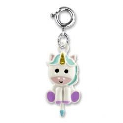 Swivel Unicorn Charm