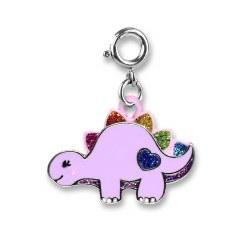 Glitter Dinosaur Charm