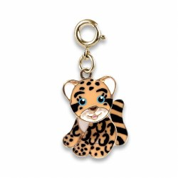 Gold Cloud Leopard Charm