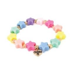 Pastel Star Stretch Bracelet