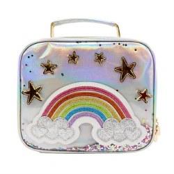 Silver Rainbow Lunchbox