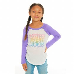 Big Sister Love Ruffle Raglan 2