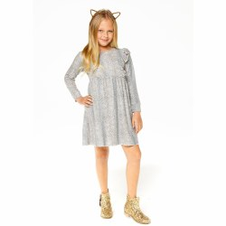 Love Knit Ruff Dress Animal 12