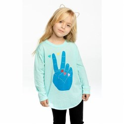 Peace & Hearts LS Tee 4