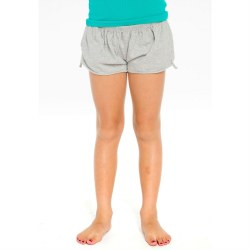 Cotton Flouce Short-Grey 8