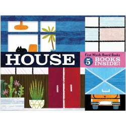 House: First Words Board Books