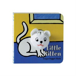 Little Kitten Finger Puppet Book