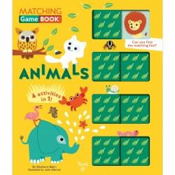 Matching Game Book: Animals