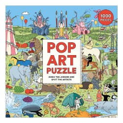 Pop Art 1000-Piece Puzzle