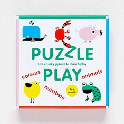 Puzzle Play: Five Chunky Jigsaws to Learn & Play
