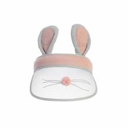 Bunny Ear Visor Blush