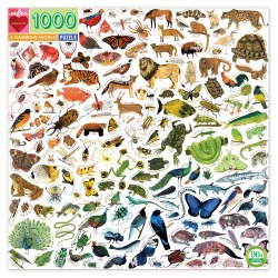 A Rainbow World 1000-Piece Puzzle