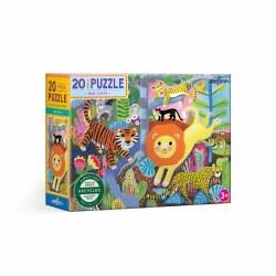 Big Cats 20-Piece Puzzle