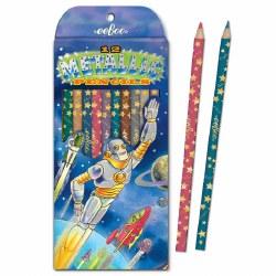 Colored Pencils- Robot Rescue Metallics