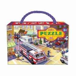 Fire Truck 20-Piece Puzzle