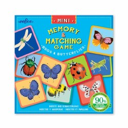 Mini Memory Game Bugs and Butterflies