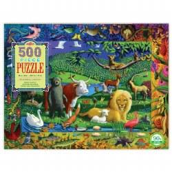 Peaceable Kingdom 500-Piece Puzzle