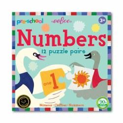 Preschool Numbers Puzzle Pairs