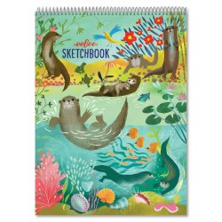 Sketchbook Otters