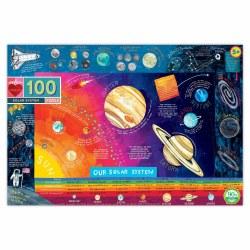 Solar System 100-Piece Puzzle