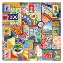 UFO Victorian Ladies 1000-Piece Puzzle