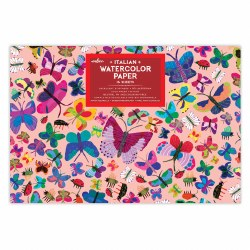 Watercolor Pad- Butterflies