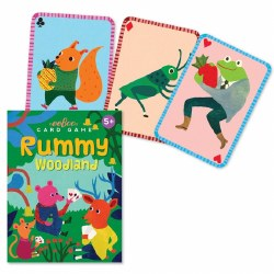 Woodland Rummy Cards