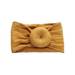 Headband Cable Bun Mustard