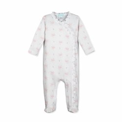 Ruffle Footie Night Sky 0-3M