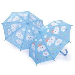Color Changing Umbrella Raindrops