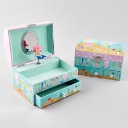 Musical Jewelry Box- Mermaid