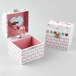 Musical Jewelry Box- Fairy Unicorn