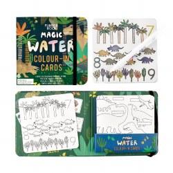Magic Water Color Cards Dinosaur