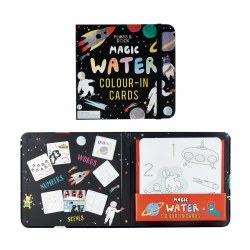 Magic Water Color Cards Space