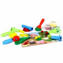 Green Toys Tools Essentials Dough Set