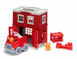Green Toys Fire Station Set