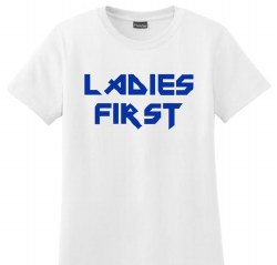 Ladies First Adult Tee S