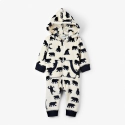 Fleece Bby Jumpsuit Bear 18-24