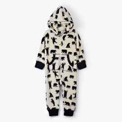 Fleece Jumpsuit Bear 2