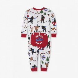 Hockey Night Union Suit 3-6M