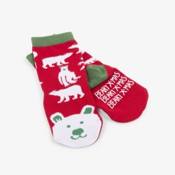Beary X-Mas Socks 4-7