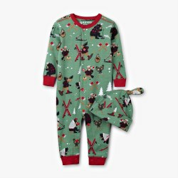 Northern Winter PJ&Hat 3-6M