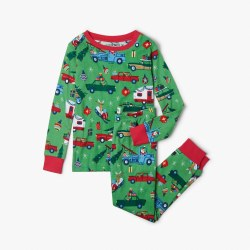 Retro Christmas PJ Set 10