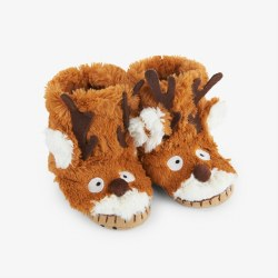 Slippers-Reindeer 8-10