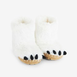 Slippers-Polar Bear Paws 8-10