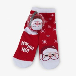 Sock Ball Cheerful Claus 4-7