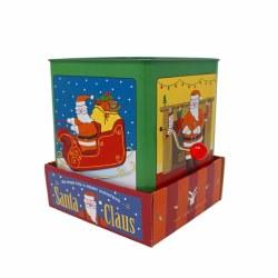 Jack-in-the-Box Santa