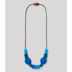 Cobalt Teething Necklace